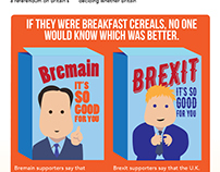 chicken! newspaper for kids Brexit or Bremain? poster