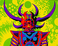 """Lord of Light"" Jack Kirby Prints for Heavy Metal"