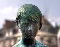 HDR Statue Portrait