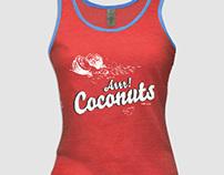 Tshirt Design - ARRR! Coconuts