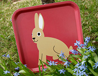 "NEWS Tray ""Hare"""