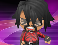 BuddyPoke Daft Punk Animación Get Lucky FULL ANIMATED