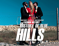 History of blue hills.