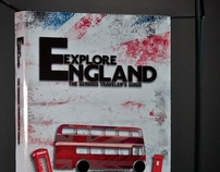 """Explore England"" book jacket"