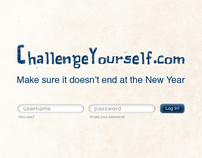 Website Design: ChallengeYourself.com