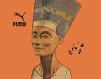 The Nefertiti Bust x Puma.