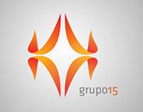 Criação da imagem de marca do grupo15