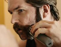 Taking It All Off - Aaron Ramey shaving