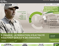 Hydro Quebec Website Proof Of Concept