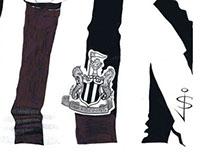 Newcastle United Caricatures