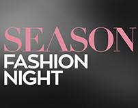 Identidade Visual | Season Fashion Night