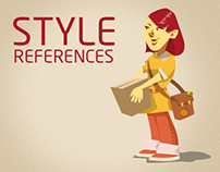Style References for Animation