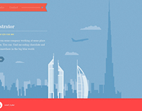 Illustrated Website Tutorial