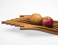 Vii : Wooden Tray