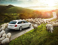 "SKODA // Superb Launch ""Three years of your life."""
