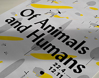 Of Animals and Humans Exhibition Design