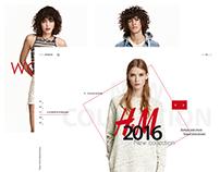 [H&M] Online shop concept