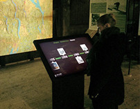 Interactive Map for Kistefos Museum