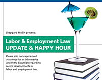 Happy Hour Education Class Invitation