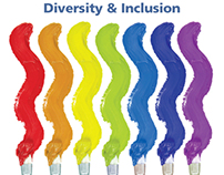 Diversity and Inclusion Brochure Print Design