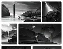 Environment thumbnails