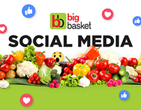Bigbasket Social Media Creatives