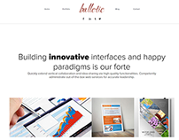 Balletic Multipurpose Website Concept