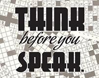 Before you speak...read