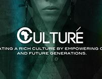 Culturé Magazine promo poster