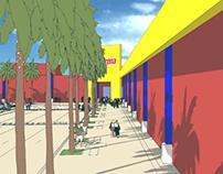 "Centro Comercial ""Charles de Gaulles"" Santo Domingo."