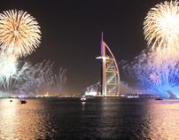 NYE Fireworks Dubai