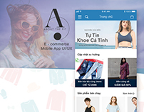 UI/UX mobile app Shopping