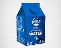 SpringWater Brand&Identity - Product Label