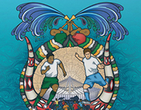 Fifa World Cup 2010: Durban Host City Poster