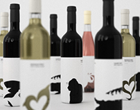 Kalahari wine labels