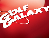 2010 Golf Galaxy Holiday Signage/ Holiday Creative