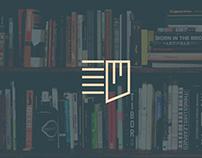 Księgarnia Zakładka || Concept rebranding