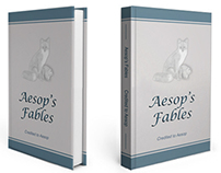 Aesop's Fables Book Cover Design