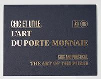 CHIC ET UTILE, L'ART DU PORTE-MONNAIE