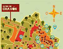 Altos de Chavón Map