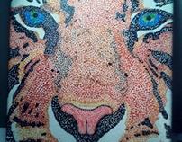Earth Eyes Tiger
