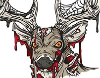 Hardcore Deer Illustrations