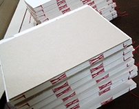 Hand bound sketchbooks