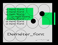 Deméter Font