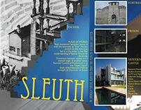 Set Design for Sleuth by Anthony Shaffer