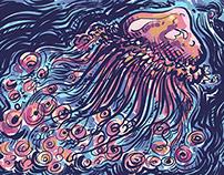 Méduse / jellyfish
