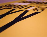 TUNGSTEN Typeface Poster