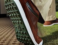 Spikeless Golf Shoe Digital Ad