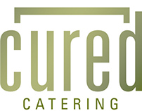 Cured Catering Branding