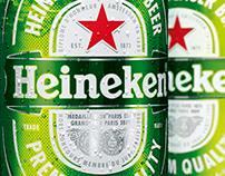 Heineken twin close up